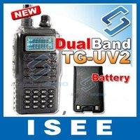 Рация 5 Watts handheld dual band dual display amateur two way radio BAOFENG UV-5R portable walkie talkie china post