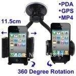 Free Shipping Universal Scalable Car Holder for iPhone 4 & 4S(China (Mainland))