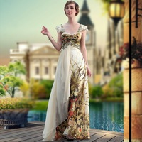 Free Shipping 2012 DorisQueen asian ready to ship prom evening dress long 30646