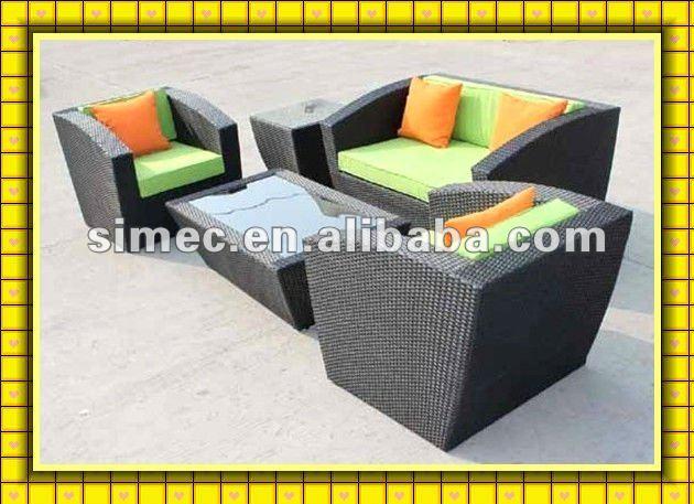 factory sale modern design wicker rattan furniture outdoor