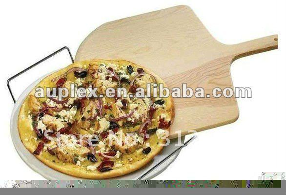 BBQ Grill parts kamado accessories pizza wood shovel plate factory wholesale(China (Mainland))