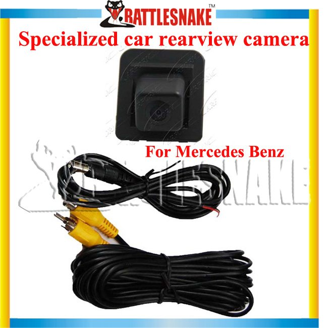 Free shipping Original Car Rearview Camera For Mercedes BENZ Can be adopted CMOS/FCCD/CCD/offer the wide option for the clients(China (Mainland))