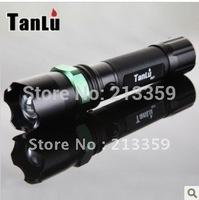 Free Shipping  7W 5 Mode 350lm Lumen CREE Q5 Focus Adjust Zoom LED mini Flashlight torch Hot