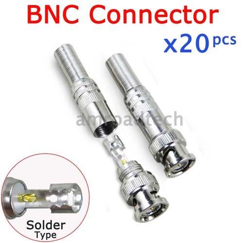 Coax Type Connectors Solder