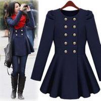 2012 women's wool coat slim medium-long woolen outerwear autumn and winter overcoat woolen female
