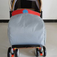 Winter ! buggiest foot cover baby car socks cart cotton pad windproof hood cotton-padded windproof hood
