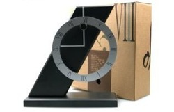 Acme contracted design item, digital Roman double module. PISA table clocks, style from Northern European(China (Mainland))