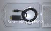 Free shipping 1.8M MHL to HDMI Cable Adapter USB MICRO For Smartphone to HDTV HD TV drop shipping