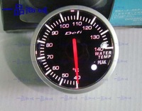 2.5 INCH 60MM Auto Defi Gauge, car meter WATER TEMP Temperature Meter,RED and White Light