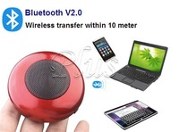 4pcs/ lot Free shipping Wireless Portable bluetooth Mini speaker box for Iphone 4 / Laptop support TF card