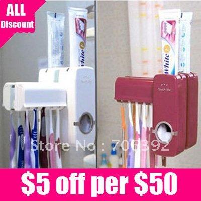 новая автоматическая зубная паста распределитель зубная щетка держатель множеств 1шт/много