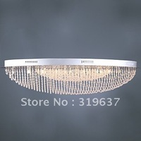 Free Shipping Modern Crystal Flush Mount with 24 Light