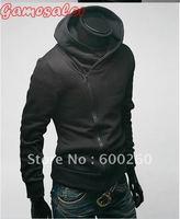 Free shipping High Collar Men's Jacket Top Brand ,Sweatshirt,Dust Coat ,Hoodies Clothes,cotton wholesale