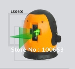 LSG600 Self Leveling Cross Line Green Laser Level 1V-1H Free shipping with LSG306 Laser Grasses(China (Mainland))