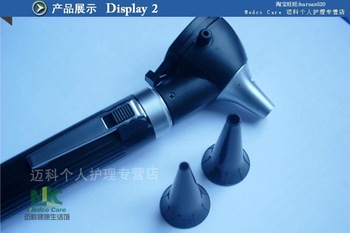 high grade hot sell  Medical ear  fiber Optic otoscope  ear endoscope with nice gif box free shipping