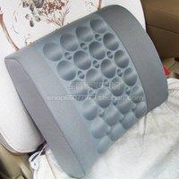 Car electric massage vibration tournure car lumbar pillow cushion back cushion breathable remedical pillow free shipping 1pcs