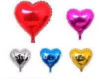 18' Heart Shape Helium Mylar Balloon, Party Decorations Foil Balloon, Free Shipping