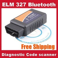 10pcs ELM327 Bluetooth OBDII V1.5 CAN-BUS Diagnostic Interface Scanner obd 2,Elm 327 Bluetooth Car Reader/Scan Tool