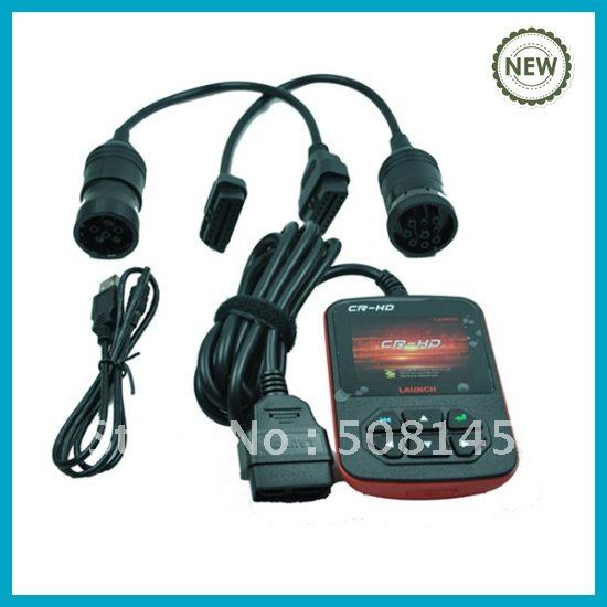 2012 Heavy DIY Truck Code Reader Launch CR-HD in promotion(China (Mainland))