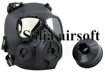 GEN 4 M04 skull perspiration fog fan GAS mask Face protection Black