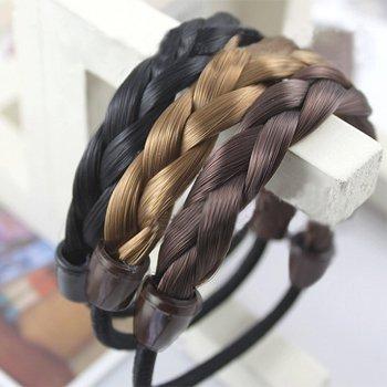 Sample 6 color Rayon Elastic Headband women's rubber Hairband Head band Hair 12pcs/lot