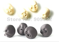 Free Shipping 1x CAOMARU Novelty Stress Pressure Reliever Anti-stress Face Ball Christmas Gift