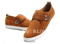2012 New arrival  fashion men's shoes leather lace up causual shoes