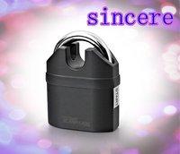free shippment  high quality  alarm padlock electroplate alarm lock