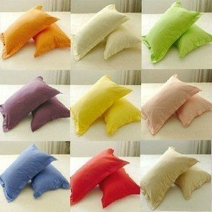 2pcs Pillowcases 100% cotton free shipping 45cm x 75cm