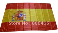 World Cup national team 150*90 cm Spain soccer flags,hang polyester banners, 10ps