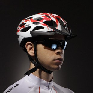 2012 NEW Cycling BMX BICYCLE HERO BIKE red HELMET With Visor 902740-BIKE2012-059-RED  Free shipping