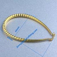 Earring fittings hoop earring loop earring components 64*44mm wholesale price