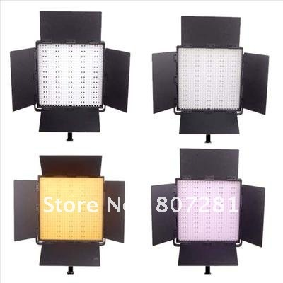 Promotion Free Bag 600 LED Video Light Panel For Film Studio(China (Mainland))