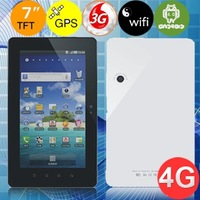 "Voosoo V7A 4GB Built-in 3G Qualcomm MSM 7227-A 1.0GHz DDR3 512MB 7.0"" Capacity Touch Screen Android 4.0 WIFI GPS 3G Tablet PC"