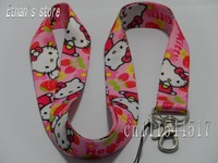 New kids  Hello Kitty neck lanyard lots 10pcs/lot  Free Shipping kt-16