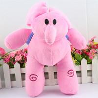 Retail 1PCS Large 30CM POCOYO BANDAI PLUSH SOFT FIGURE DOLL--Elly Plush Toy Free Shipping