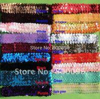 Hot sale 1 inch sequin headband