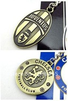 New mixed-order metal Arsenal soccer keychains,alloy football keyring,30pcs