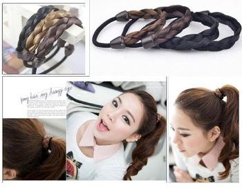 New Arrival Hot Selling Cheap Haircombs Wholesale Elastic Hair Bands Korean Wig Braid Hair Bands