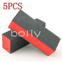 5pcs Nail Art Tips UV Gel Buffer Polish Sanding Block Files Manicure Tool