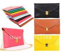 Womens fashion Envelope Clutch bag Chain Purse Lady Handbag Messenger Tote Shoulder Hand Bag free shipping