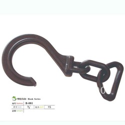 Free Shipping!B-081,100pcs/lot,3/4 inch black plastic hook with D-ring,bag hook,snap hook Suppliers & manufacturers(China (Mainland))