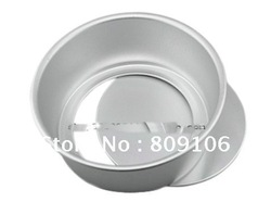 Wholesale , Cake Molds( anode) removable bottom /Pan / Tin / Decoration Tool / Size Middle 6-inch,free shipping(China (Mainland))