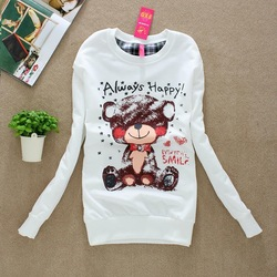 P1 Free shipping low price Women Sweater Sweatshirt Hoodies Leisure suit Winter Outer Wear Shirt Tops Wholesale(China (Mainland))
