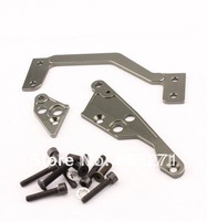 HPI baja parts,CNC metal engine mount silver,titanium-FREE SHIPPING