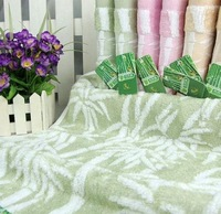 Mini order$15 random color Size 34*75cm   bamboo fiber + untwisted yarn towel wholesale soft absorbent towel  MT0047