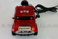 FREE SHIP!!! Car radar detector Support Russian/English speaking with LED display