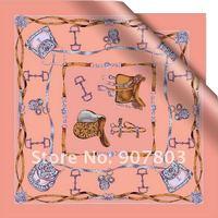 $5 off per $60 New arrivals women silk scarf fashion ladies Accessories shawls Halloween gift 53*53cm free shipping JY176