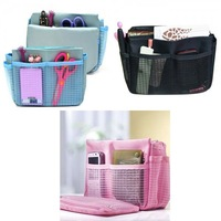 5pcs/lot Bag Organizer Bag in Bag Cosmetic Case Handbag Insert Free Shipping