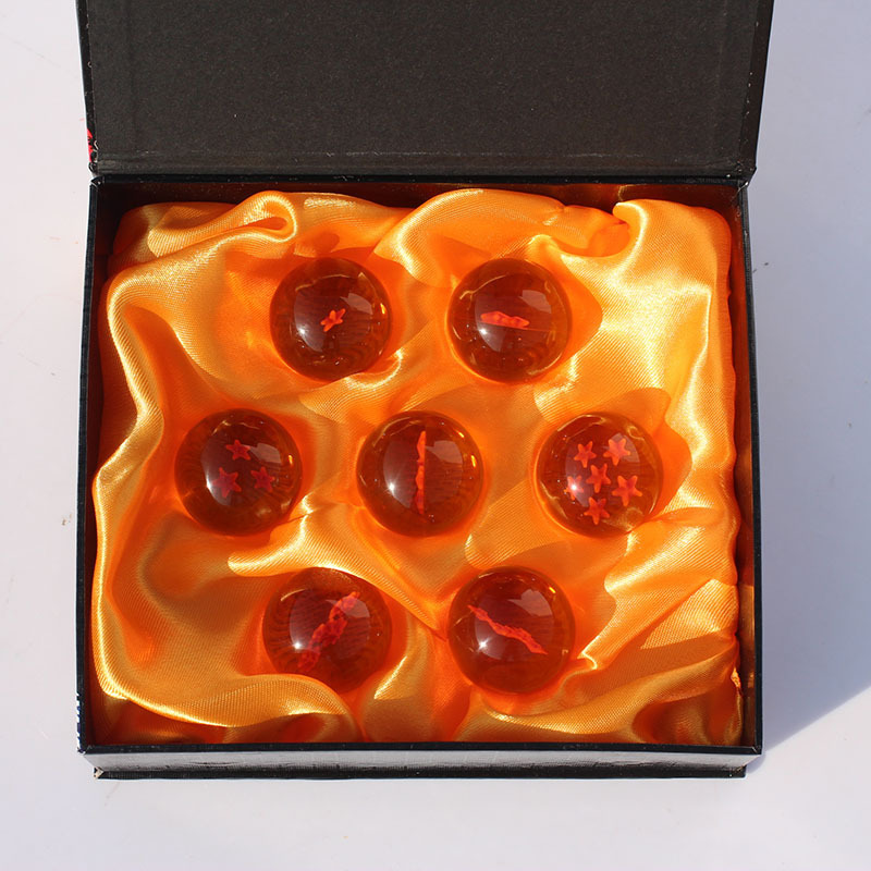 New In Box DragonBall 7 Stars Crystal Ball Set of 7 pcs Dragon Ball Z Balls Complete set